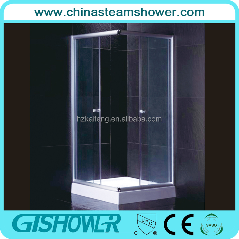 Cheap Wholesale simple shower cabin/shower room/shower box (KF102A)