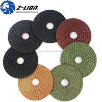 5 inch z-lion diamond polishing pads