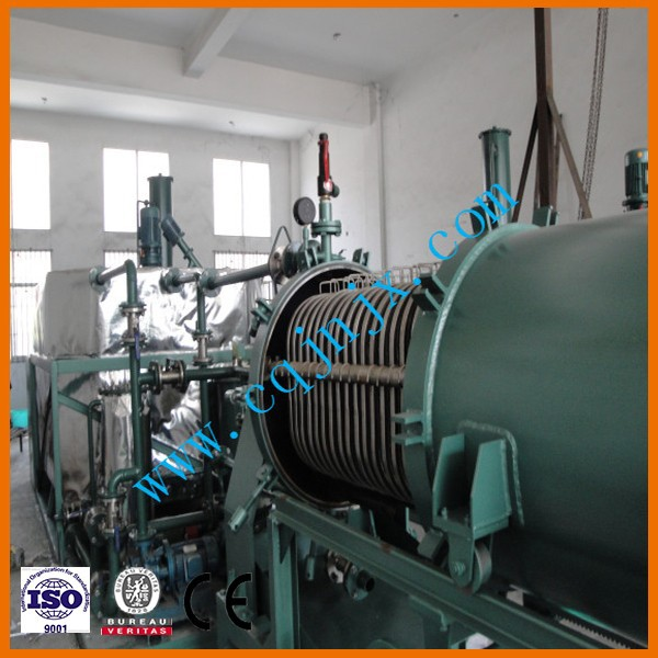 chongqing ZSC Black engine oil regeneration purifier / motor oil recycling machine / Cars oil filtering plant