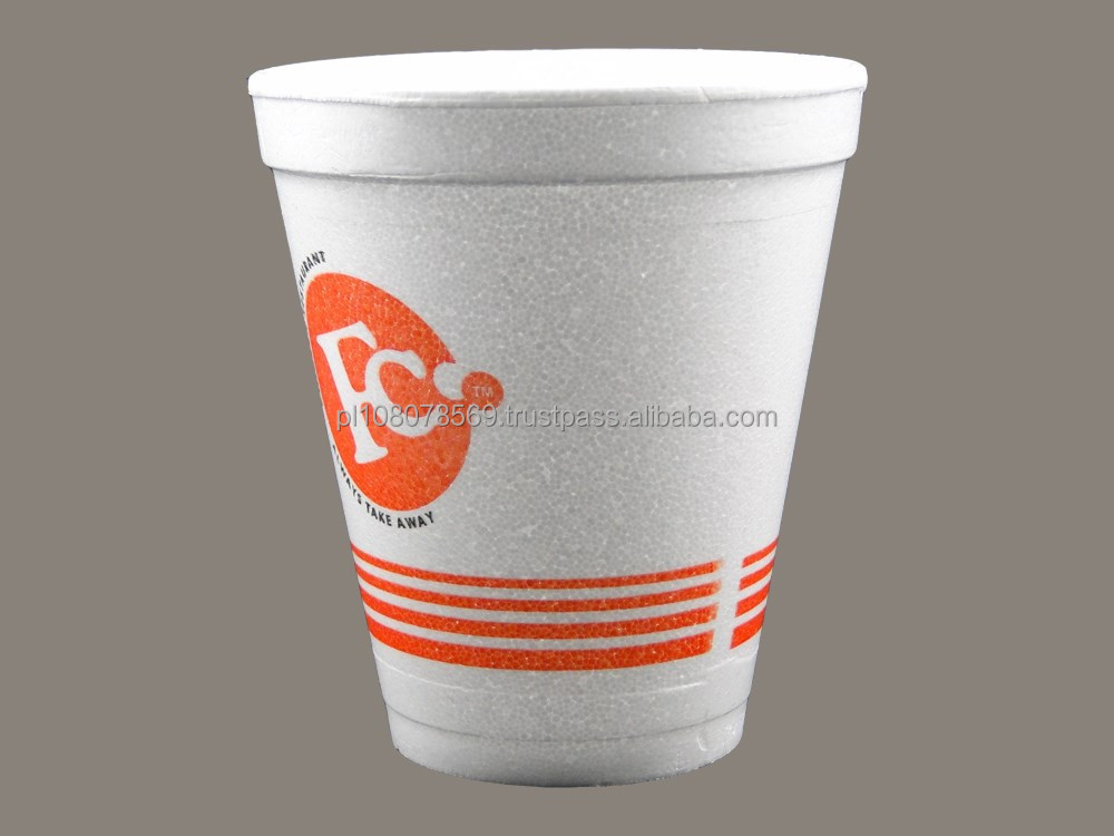 No minimum Custom Printing Foam Cups, Bowls, Etc.