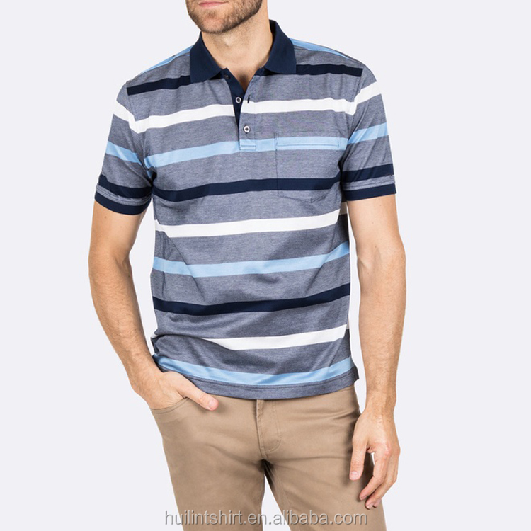 2017 Hot New Products cotton custom high end polo shirts