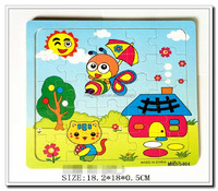 2016 Hot selling promotion wooden puzzle toy