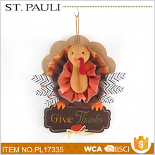 harvest festival indoor felt turkey hanging ornament thank you gifts for thanksgiving