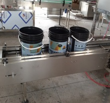 High efficient Bleach liquid electronic weighing production line ,saving and cost effective