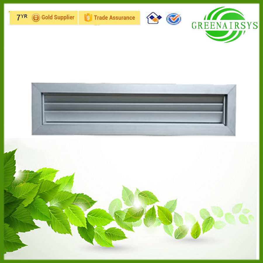 Air Conditioner Parts Interior Modern Door Louvers Bathroom Design Version for Ventilation System