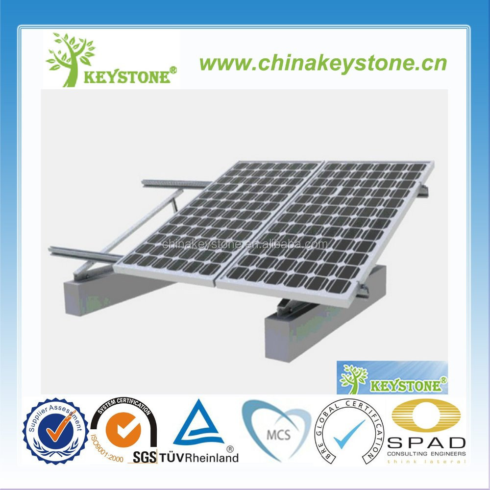 solar pv mounting system for ground installation/ solar panel system