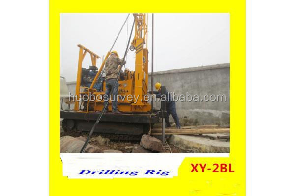 portable used crawler down the hole hammer drill rig XY-2BL