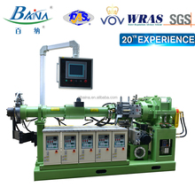 Perfect after-sales service BAINA 90vacuum cold-feeding extruder rubber making machine