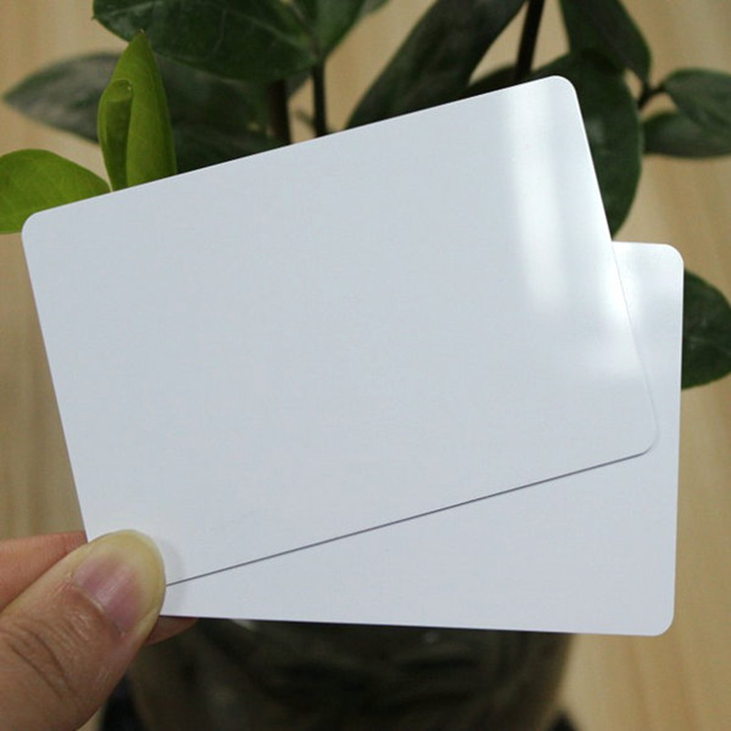 Shanghai Factory Price High quality PVC Blank White <strong>Card</strong>