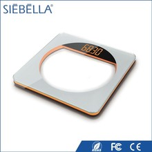 Durable good looking LED diplay electronic weighing scale with color indicate interlayer