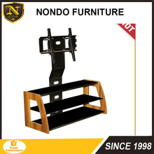 Promotion MDF modern Wooden wall motorized movable TV Stand new model LCD LED TV stand/tv table/unique tv cabinet TH11