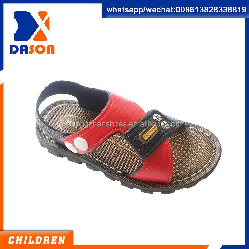 popular design pcu boys sandals from china
