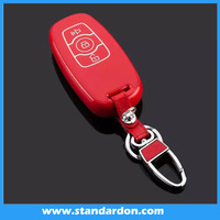 Smart leather car key for The harvard remote car key chain