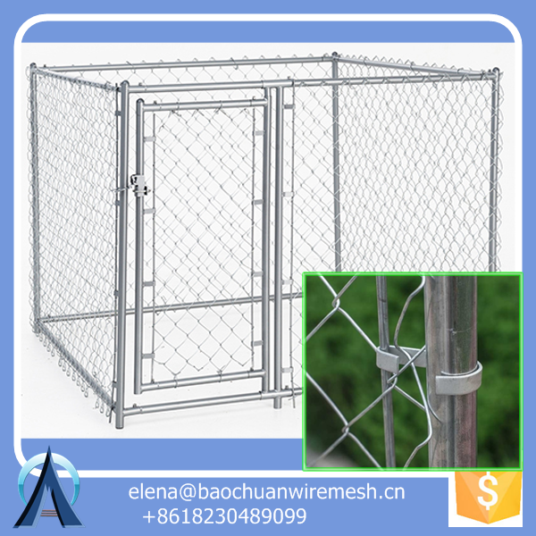 10x10x6foot Chain Link Large Dog Fence Cage Hot S / 6ft dog kennel cage