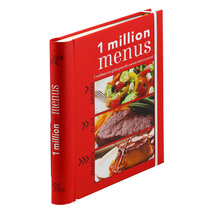My Hot Hardback Cookbook Printing Laminated Cover Recipe Book