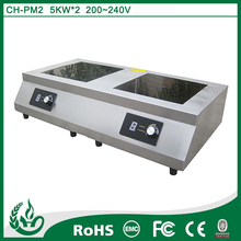 Electric hot plates for sale two head cooking