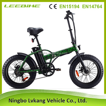 Manufacturer wholesale cheap top quality alloy frame folding fat tire electric bike