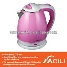 red painted electric kettle reliable electric kettle safety cordless plastic electric kettle