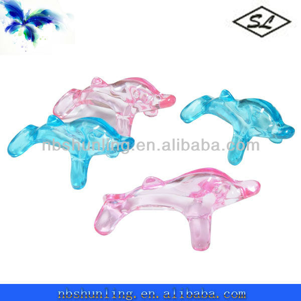 plastic mini body dolphin massager