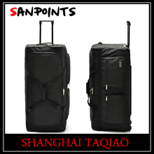 cheap luggage size polyester carry bag travelling bag trolley