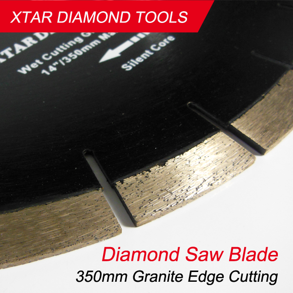 350mm diamond saw blade for hard granite cutting at wholesale price