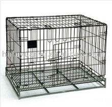 good quality factory design folding galvanized acrylic pet cage strong cage
