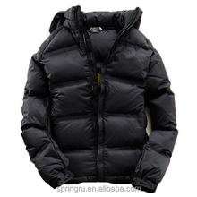 Produce Black thick down jackets OEM/ODM