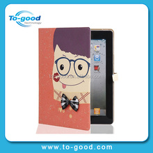 Promotional Cute Western Cowboy Leather Case For The New iPad,Tablet Case For Apple iPad Air Case
