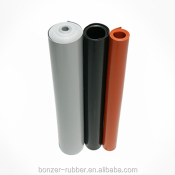 3mm thick food level commercial grade Silicone Rubber Sheet roll matting supplier