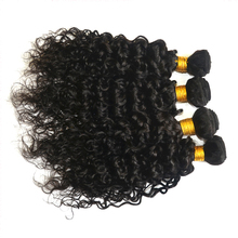 Double weft cheap spiral curl remy human hair weaving
