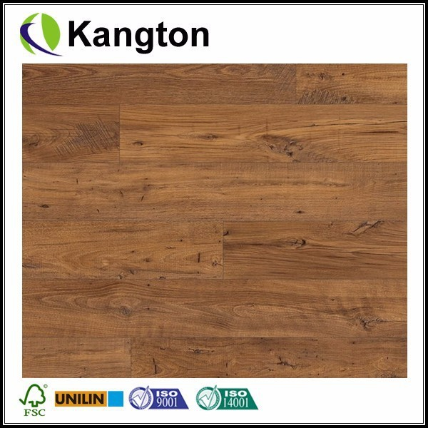 Eligna Wide Reclaimed Chestnut Antique Planks Laminate Flooring Interlocking Laminate Floor