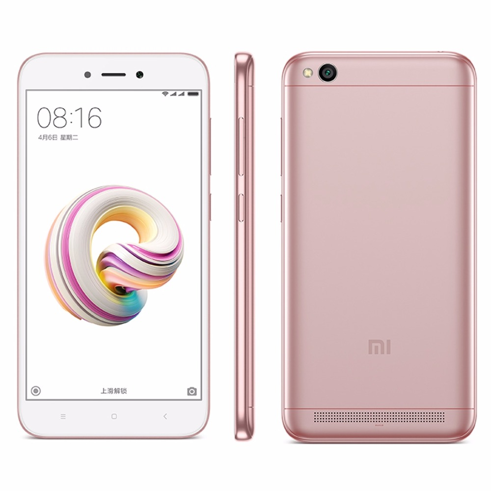 Xiaomi Redmi 5A 2GB+16GB 5.0 inch Dual SIM 4G Network Smartphone Cell Mobile Phone