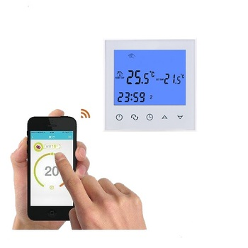WIFI Carbon Filber Underfloor Heating Digital Electronic Thermostat