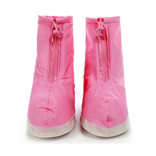 High quality plastic waterproof shoes protector portable rain shoe cover