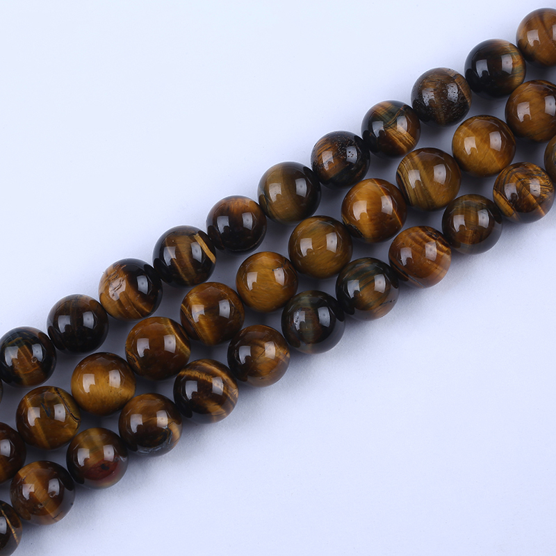 natural tiger eye beads strand wholesale
