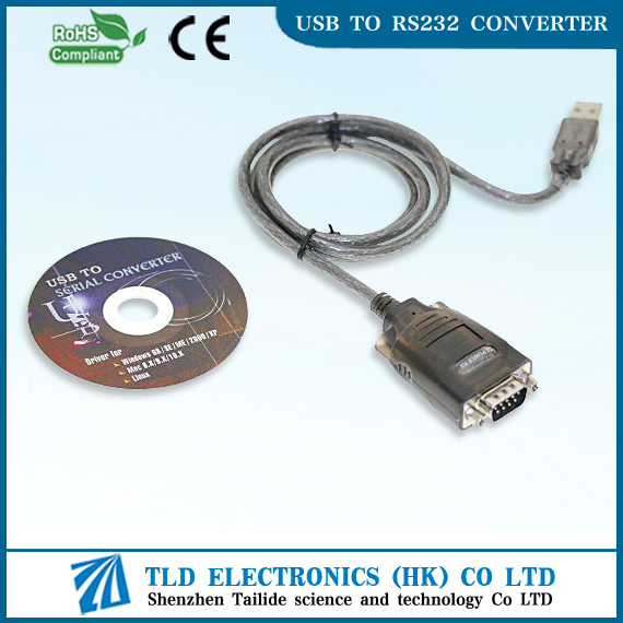 Usb To Serial Cable DB9 Pin Cable Usb To RS232 Cable with screw