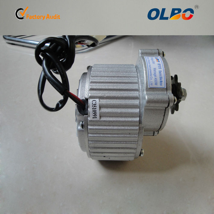 BLDC / PMDC motors for our E-bike conversions