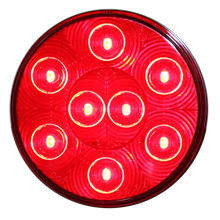 4 Inch Round LED Rear Truck Trailer Light Turn Signal Lights