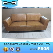 Comfortable and modern home design 1+2+3 leather sofa F805