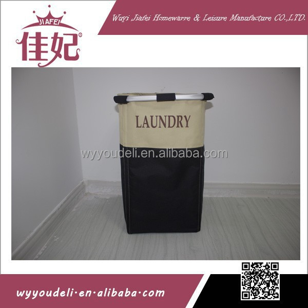2015 fashion assembly bamboo and rattan laundry basket