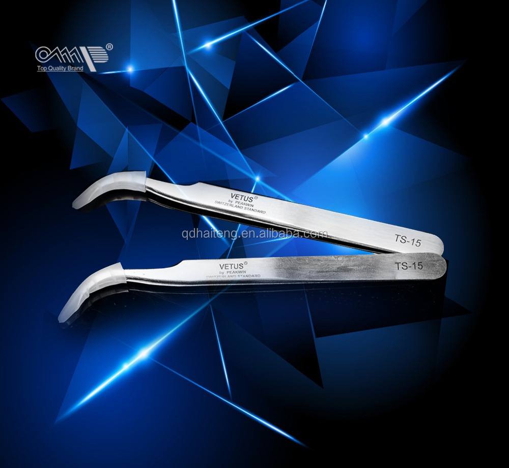 tweezers for eyelash and eyebrow extension