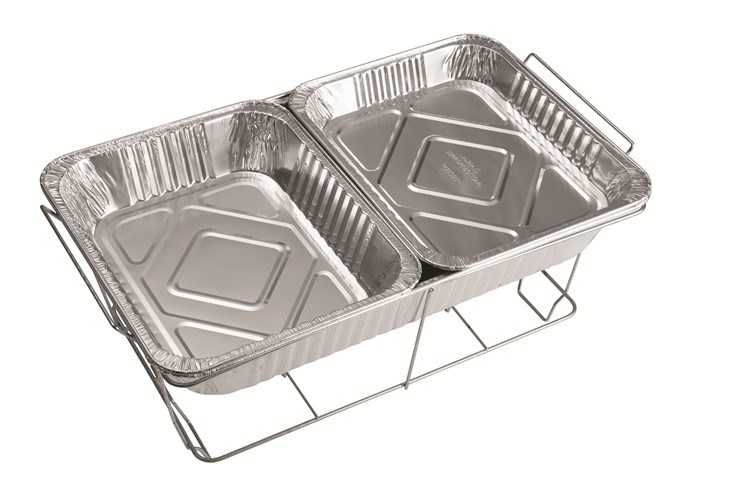 Aluminum Foil Plate Pans Seal With Lids For BBQ Barbecue Baking Making Food Fresh