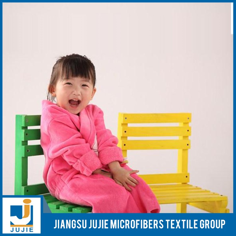 Special design widely used cheap girls kids dressing gowns bathrobe
