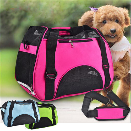 new large portable cat carrier cute pet dog cat carrier bag shoulder bag