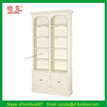 2016 European style high quality office furniture oak wood bookcase (RF063)