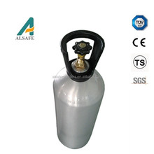 CE approved 20L aluminum gas cylinders co2 tank