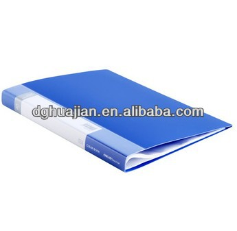 Hot Sale Factory Directly Wholesale portfolio display book PP Eco Friendly Material for presentation