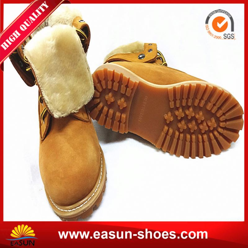 Work Boots Factory Sheepskin Insole Safety Shoes Wholesale Price