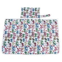 Washable travel changing pad High quality Waterproof Baby diaper changing pad