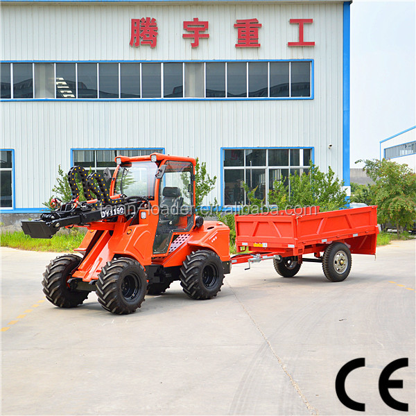China Multifunctions farming tractors DY1150 agriculture garden tractors